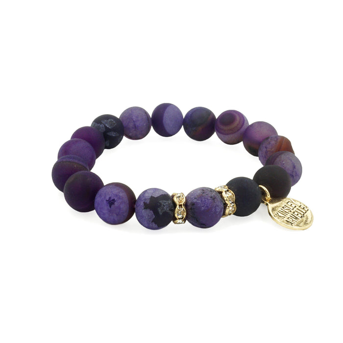 Eternity Collection - Merlot Bracelet