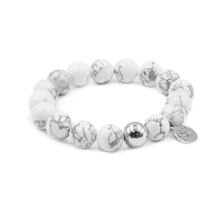 Eternity Collection - Silver Pepper Bracelet