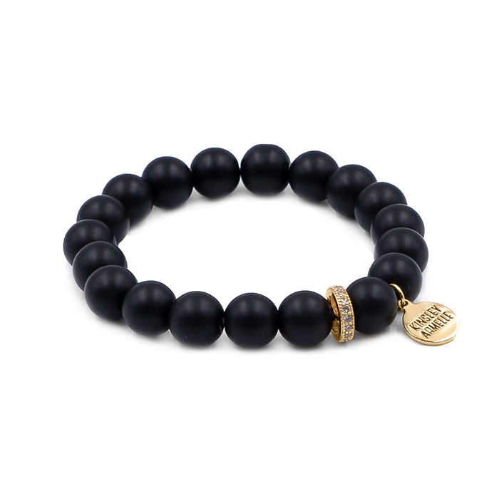 Eternity Collection - Coal Bracelet