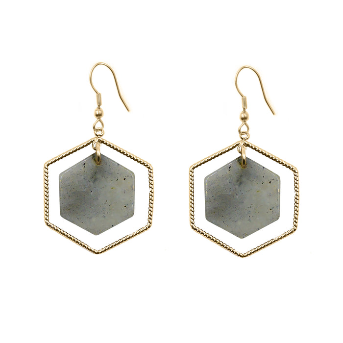 Eva Collection - Haze Earrings