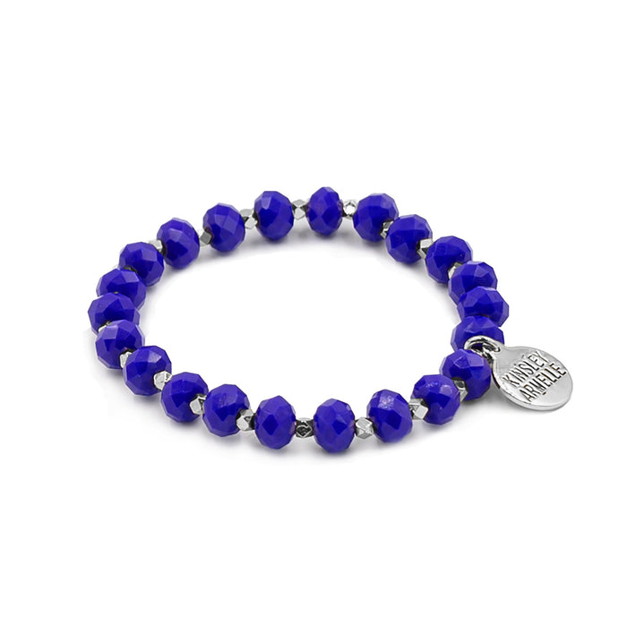 Farrah Collection - Silver Cobalt Bracelet