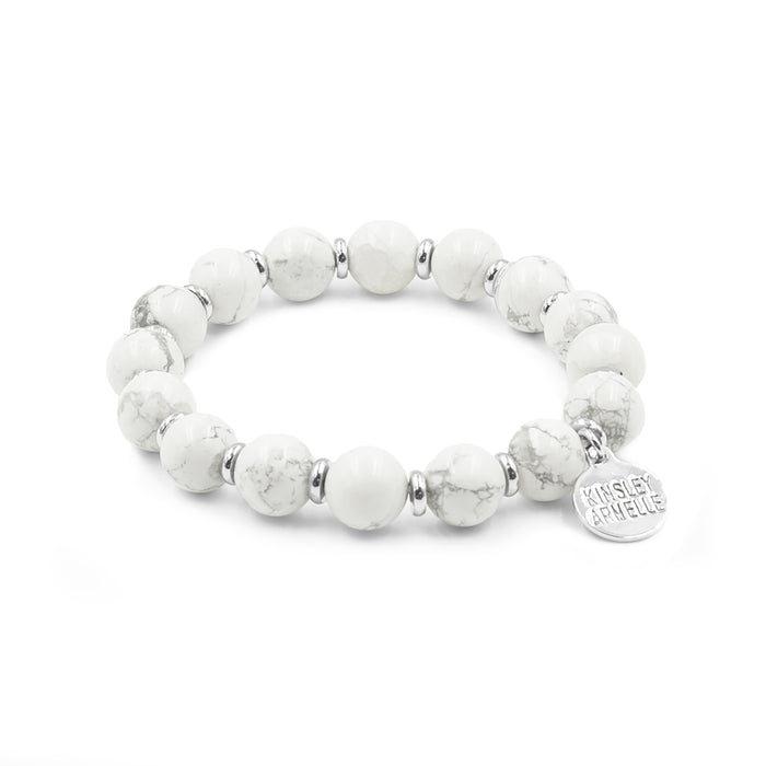 Farrah Collection - Silver Pepper Bracelet