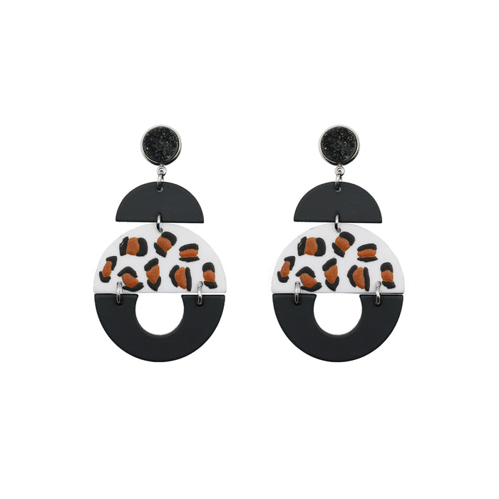 Fiji Collection - Silver Kamilah Earrings