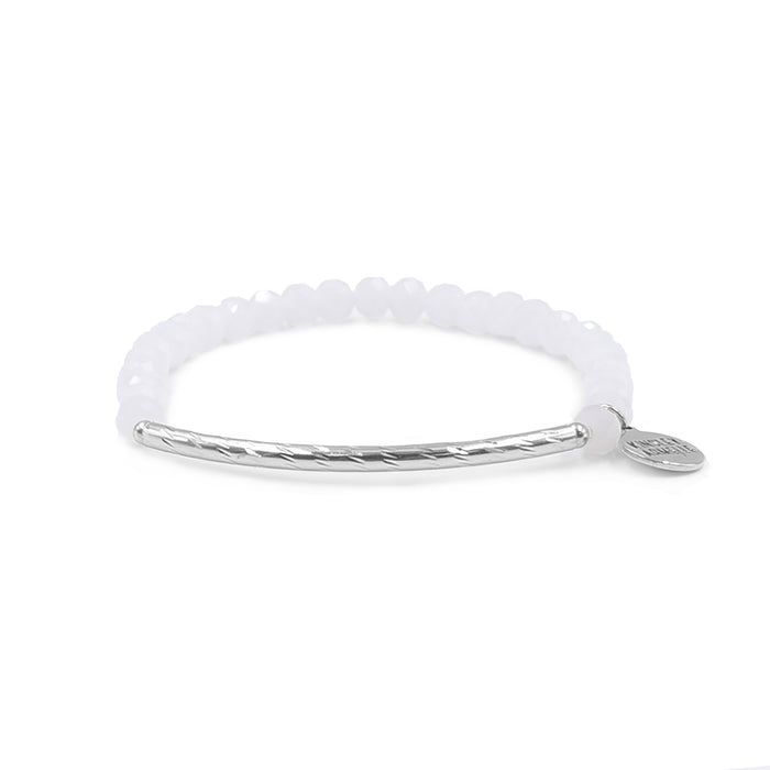 Glory Collection - Silver Perla Bracelet