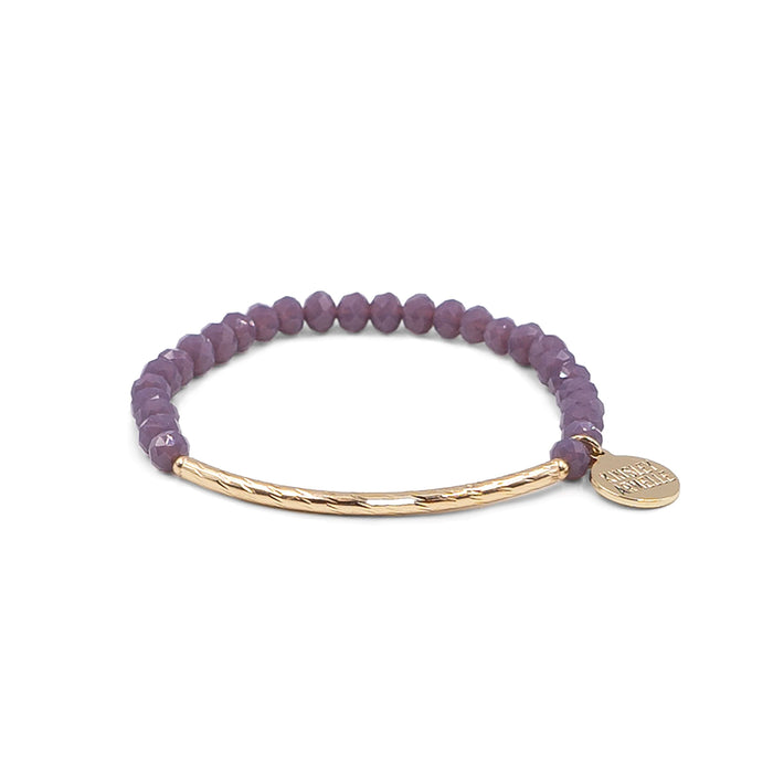 Glory Collection - Plum Bracelet