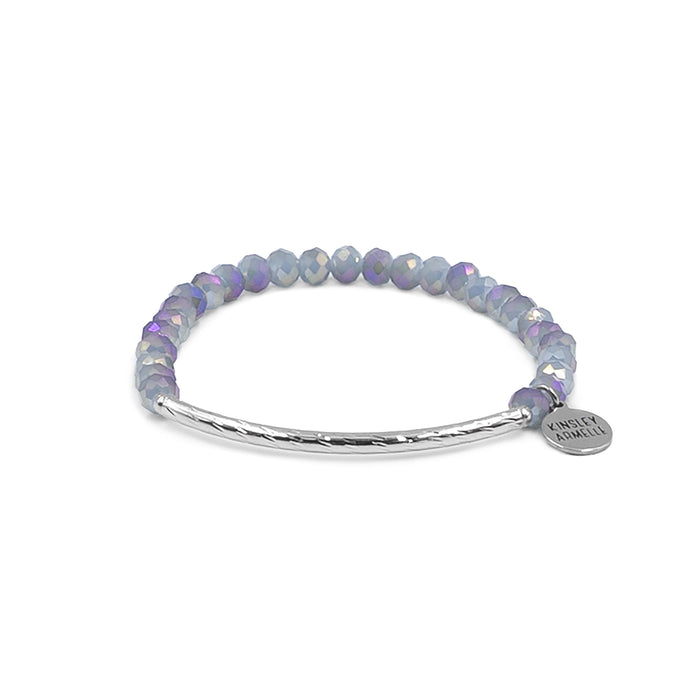Glory Collection - Silver Cashmere Bracelet