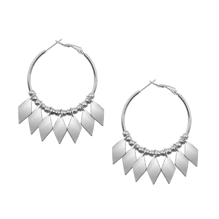 Goddess Collection - Silver Brynlee Earrings
