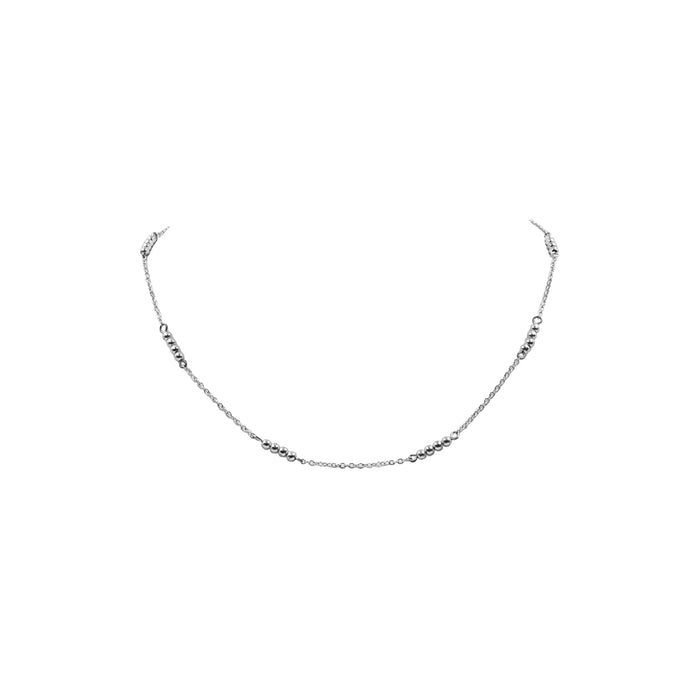 Goddess Collection - Silver Nixie Necklace