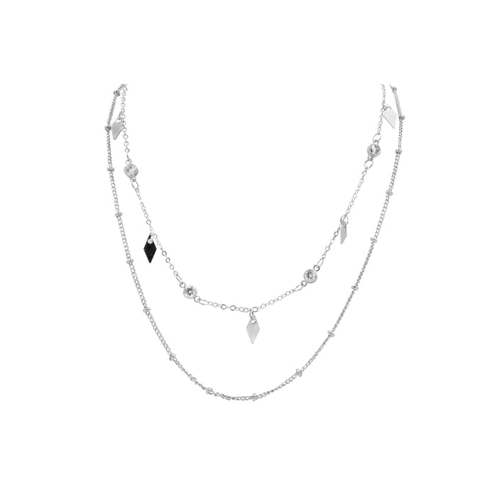 Goddess Collection - Silver Sabra Necklace
