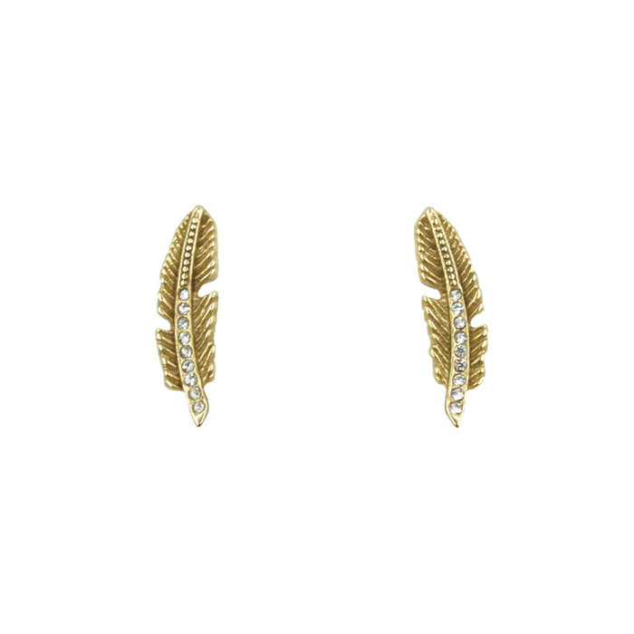 Goddess Collection - Quill Stud Earrings