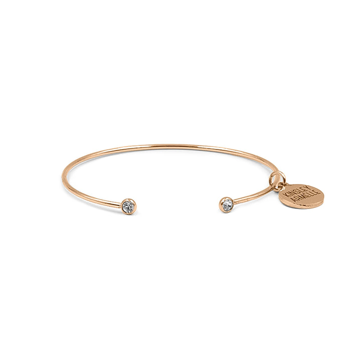 Goddess Collection - Rose Gold Adira Bracelet