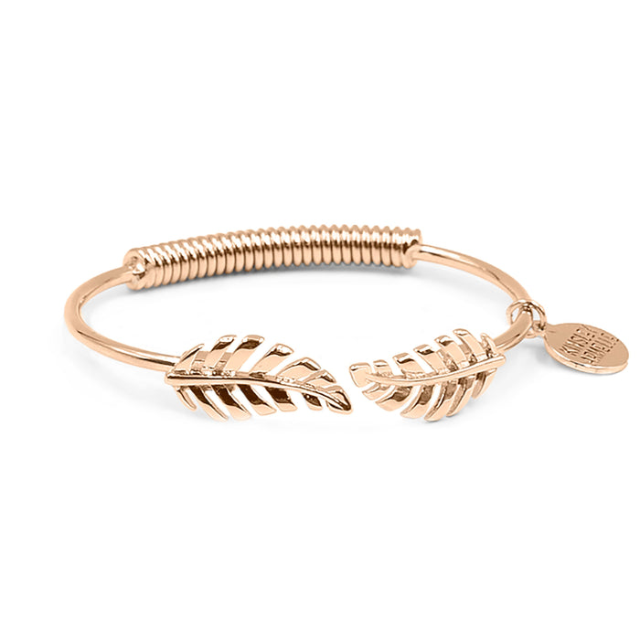 Goddess Collection - Rose Gold Laurel Leaf Bracelet