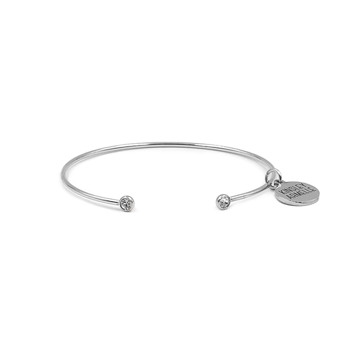 Goddess Collection - Silver Adira Bracelet