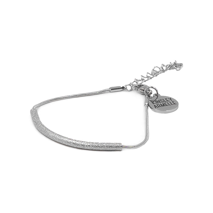 Goddess Collection - Silver Rhea Bracelet