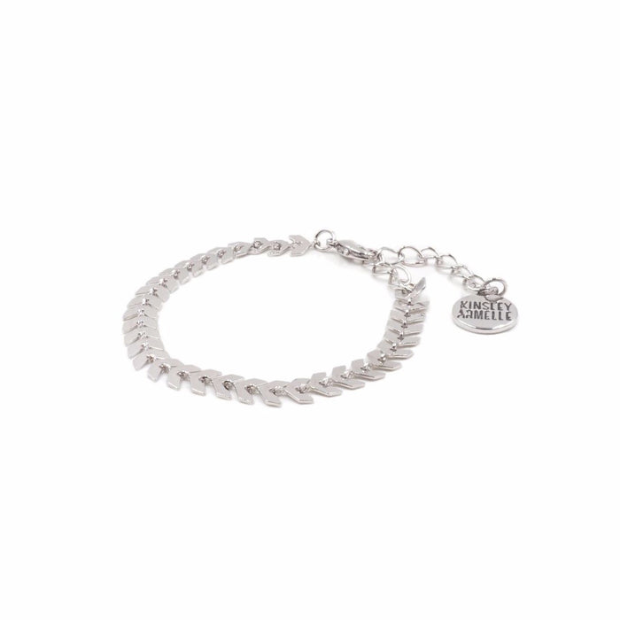 Goddess Collection - Silver Lance Bracelet - Kinsley Armelle