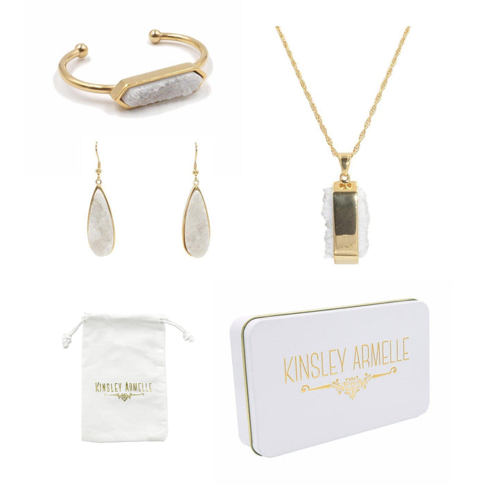Gold Quartz Gift Set
