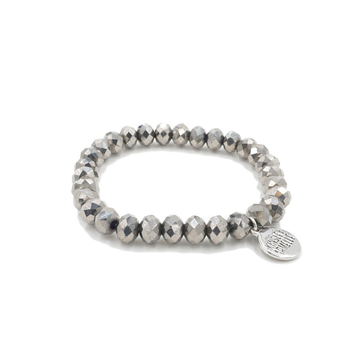 Halo Collection - Silver Sterling Bracelet - Kinsley Armelle