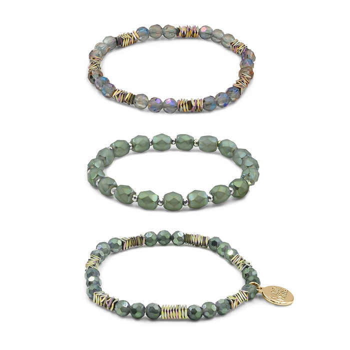 Stacked Collection - Hunter Bracelet Set