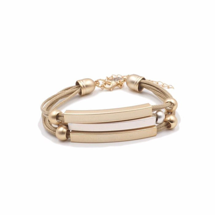 Metallic Collection - Hybrid Bracelet - Kinsley Armelle
