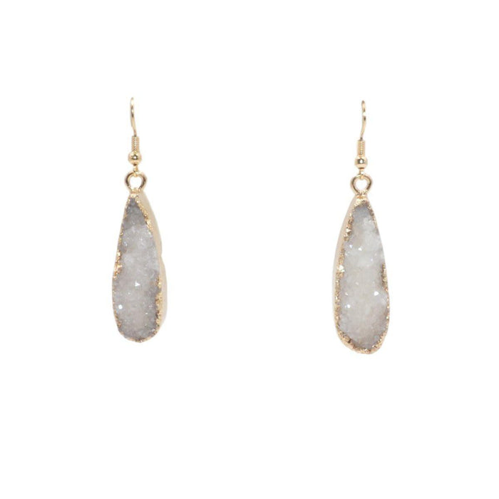 Druzy Collection - Ice Drop Earrings - Kinsley Armelle