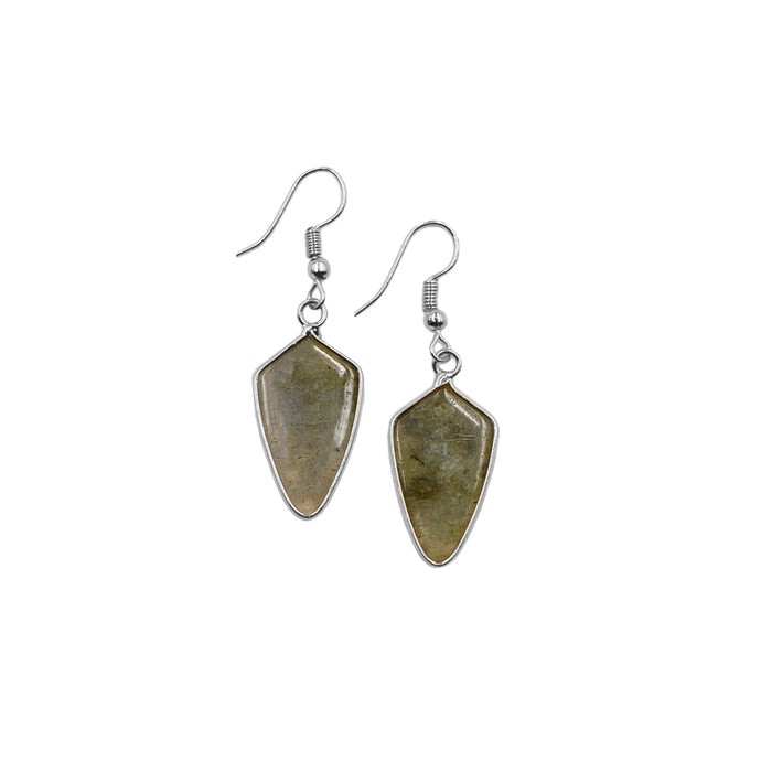 Ivy Collection - Silver Haze Earrings