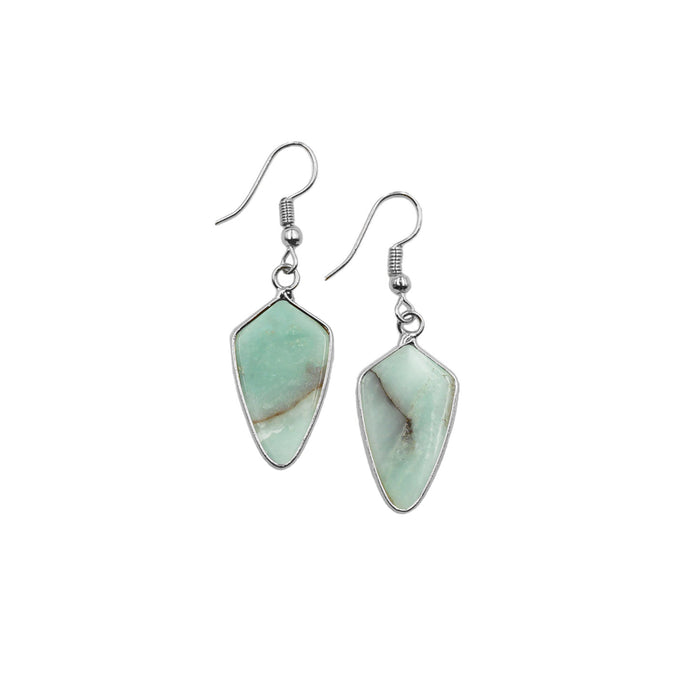 Ivy Collection - Silver Solar Earrings