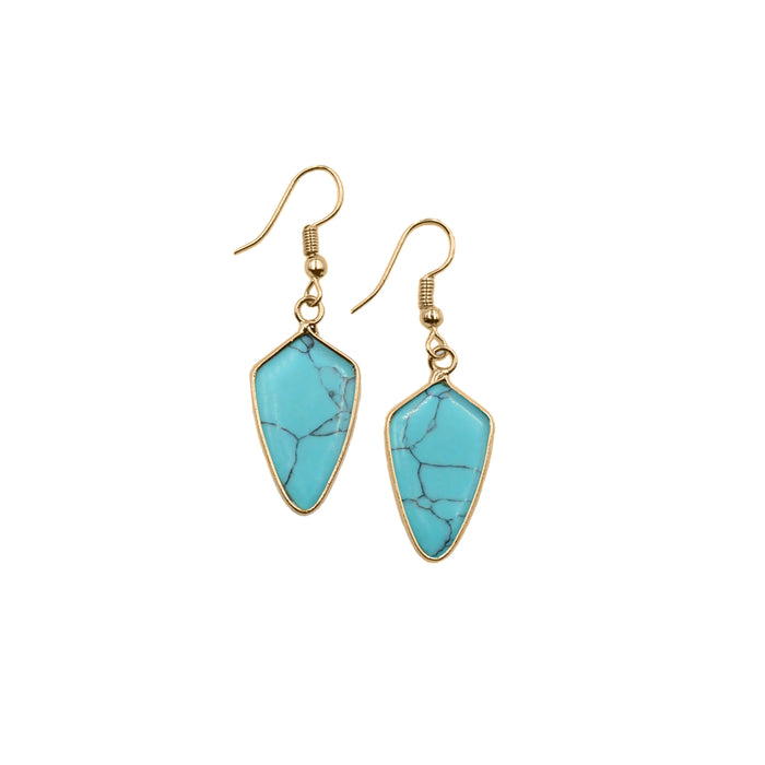 Ivy Collection - Turquoise Earrings