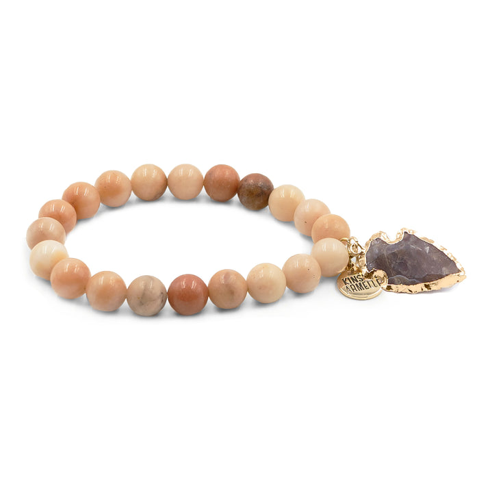 Jasper Collection - Old Rose Bracelet