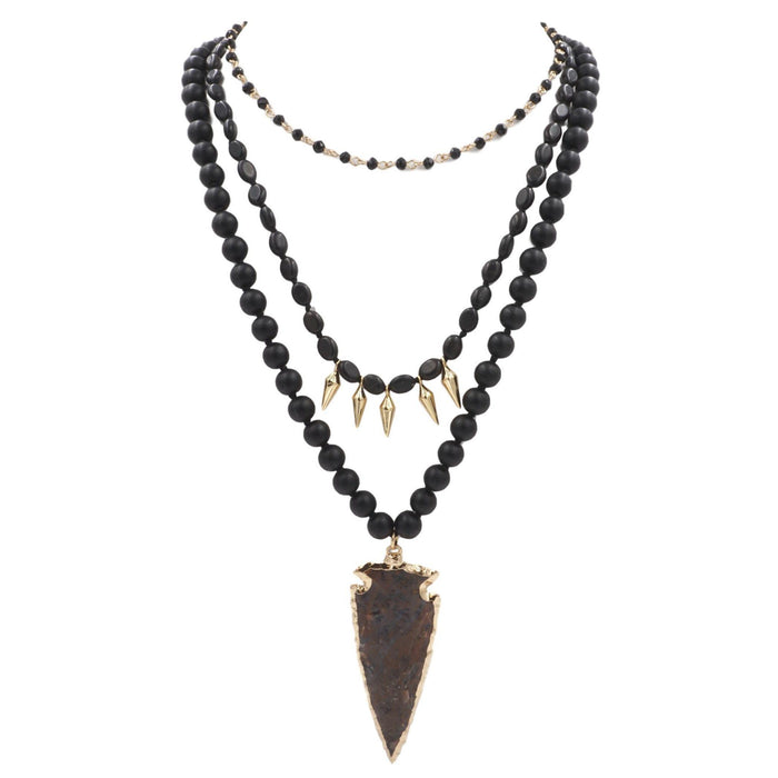 Jasper Collection - Croft Necklace - Kinsley Armelle