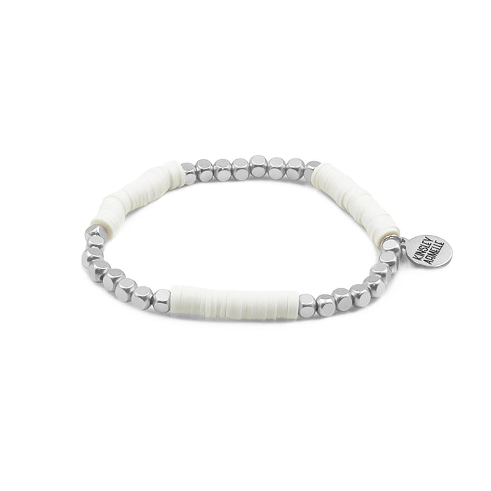 Livia Collection - Silver Ashen Bracelet