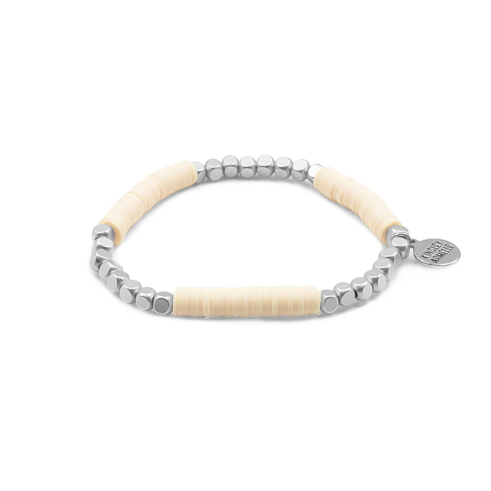 Livia Collection - Silver Tawny Bracelet