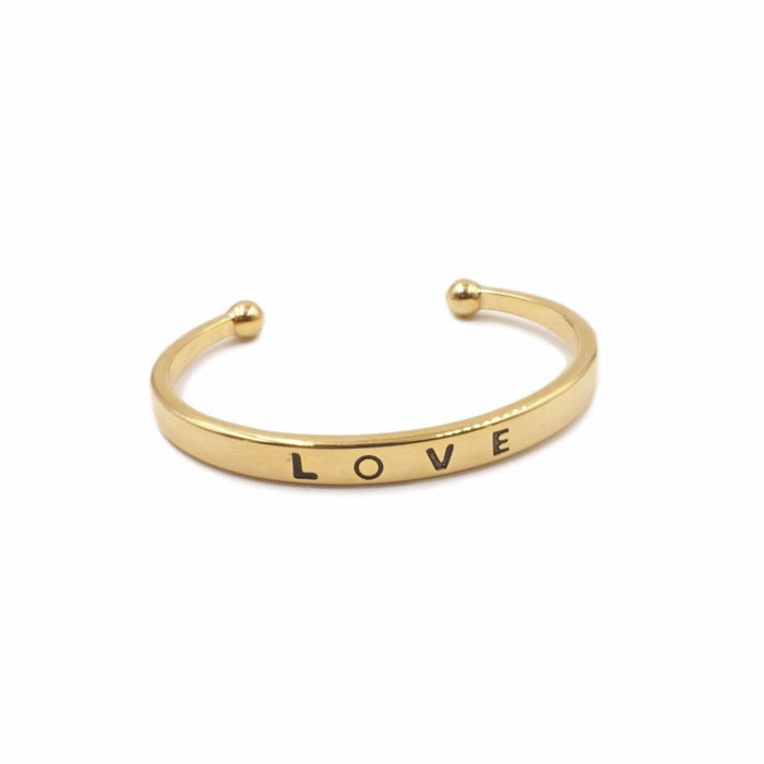 Love Collection - Gold Bracelet - Kinsley Armelle