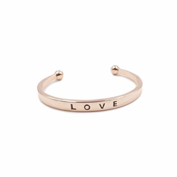 Love Collection - Rose Gold Bracelet - Kinsley Armelle