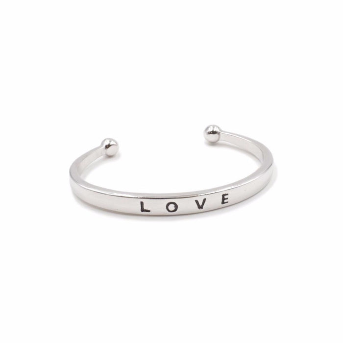 Love Collection - Silver Bracelet - Kinsley Armelle