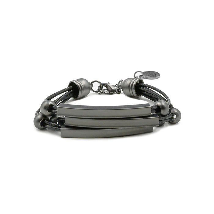 Metallic Collection - Black Raven Bracelet