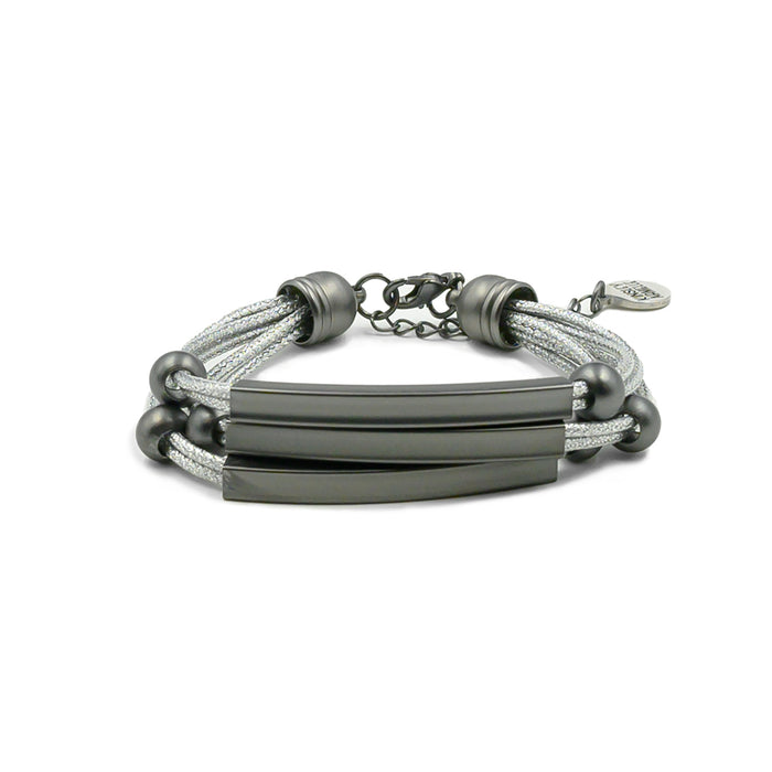 Metallic Collection - Black Slate Bracelet