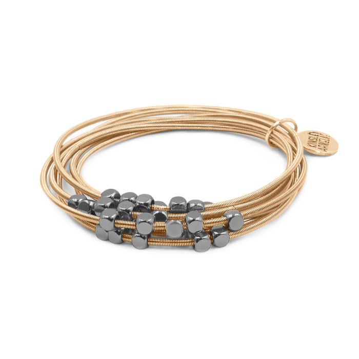 Metallic Collection - Gunmetal Nova Bracelet