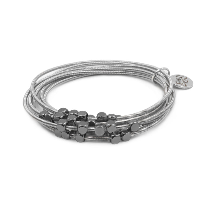 Metallic Collection - Gunmetal Ory Bracelet