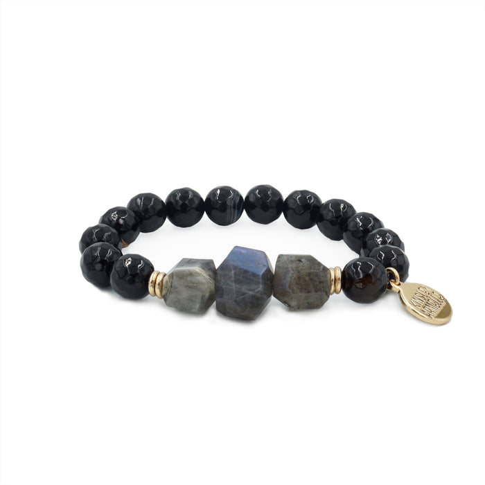 Mineral Collection - Coal Bracelet