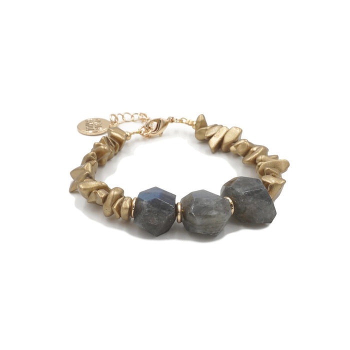 Mineral Collection - Gold Crush Bracelet
