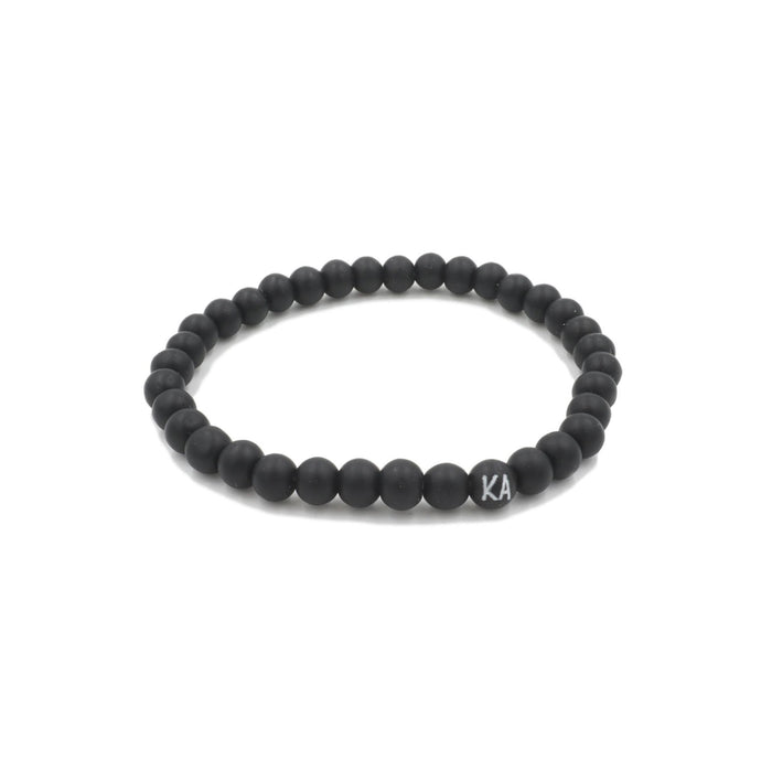 Muze Collection - Coal Bracelet 6mm