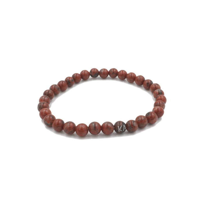 Orbit Collection - Jasper Bracelet 6mm