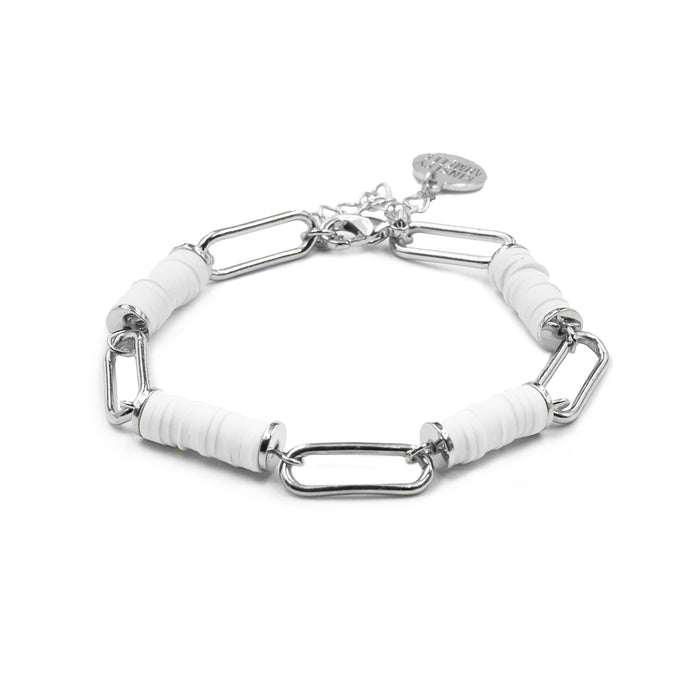 Niya Collection - Silver Ashen Bracelet