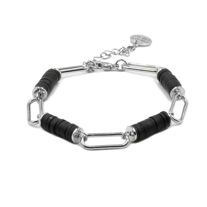 Niya Collection - Silver Raven Bracelet