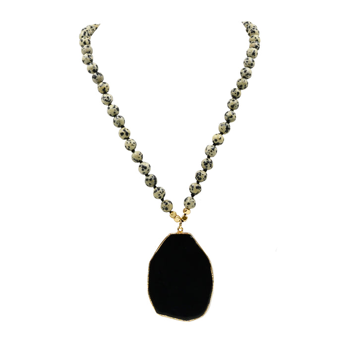 Onyx Collection - Speckle Necklace