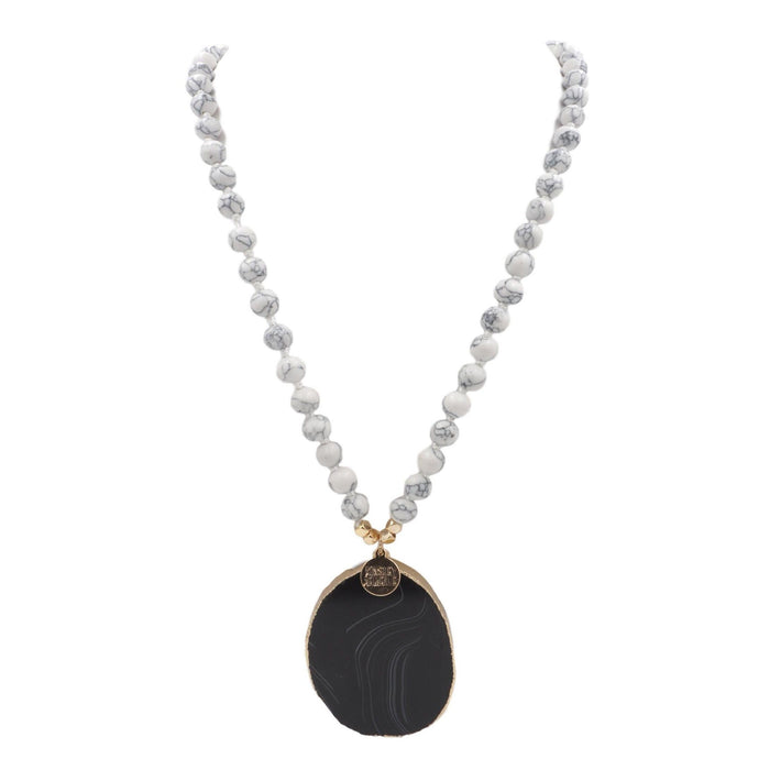 Onyx Collection - Pepper Necklace - Kinsley Armelle