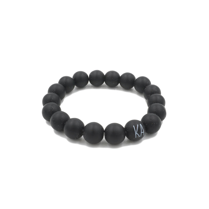Orbit Collection - Coal Bracelet 10mm - Kinsley Armelle
