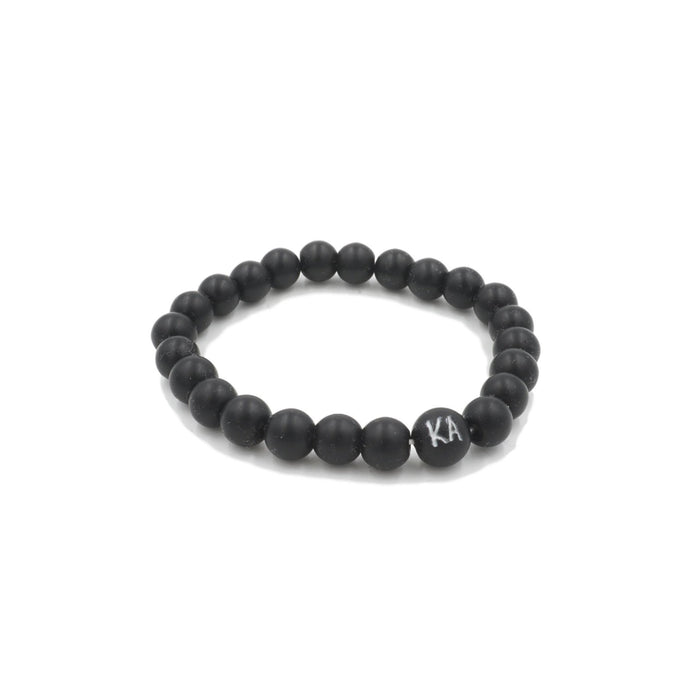 Orbit Collection - Coal Bracelet 8mm - Kinsley Armelle