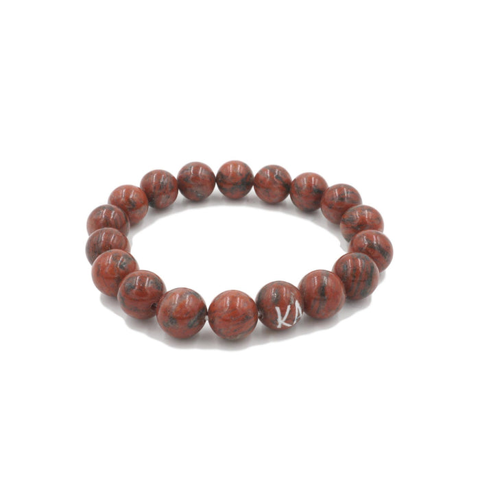 Orbit Collection - Jasper Bracelet 10mm - Kinsley Armelle