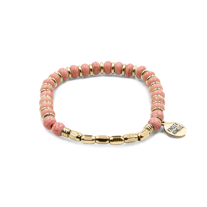 Phoebe Collection - Coral Bracelet